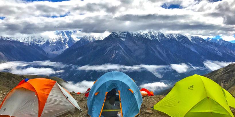 World First Self Healing Tent Nano Cure Technology